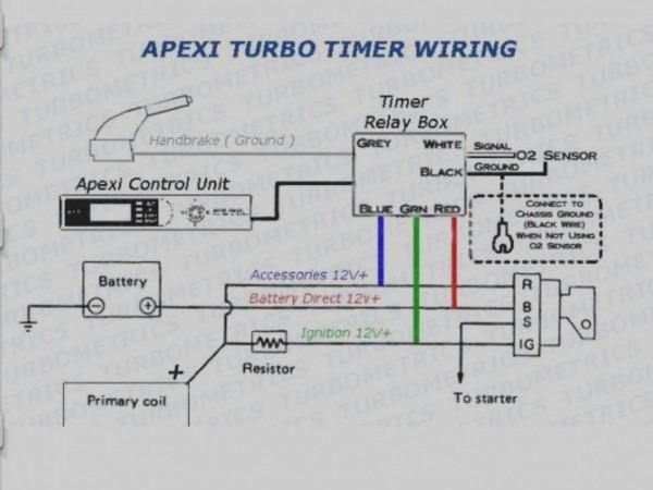 Turbo Timer Diagram