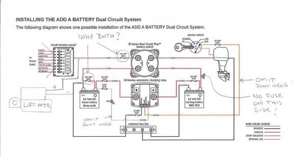 Blue Sea Add A Battery Wiring Diagram