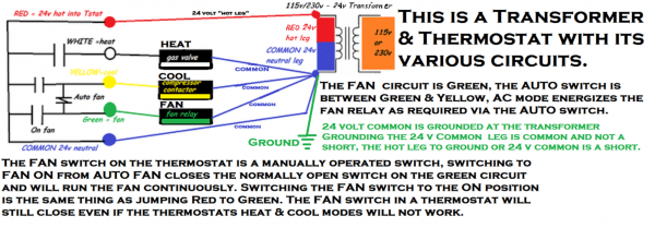 Ac Control Wiring Color Code