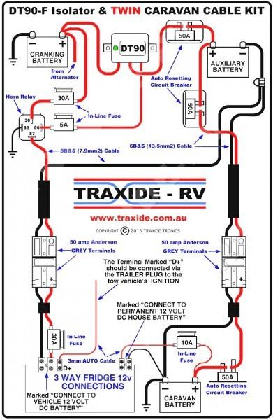 Teardrop Trailer For 12 Volt Wiring Diagram