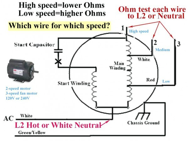 Three Speed Fan Wiring Diagram