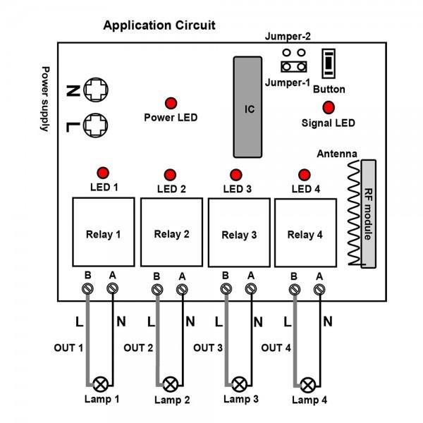 Remote Control Wiring Diagram