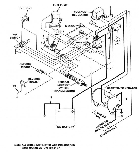 diagram 1999 club car headlight wiring diagram full version