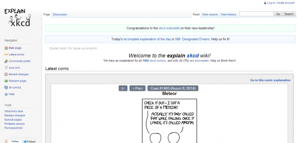 Explain Xkcd Celebrates  R Xkcd's New Leadership   Xkcd