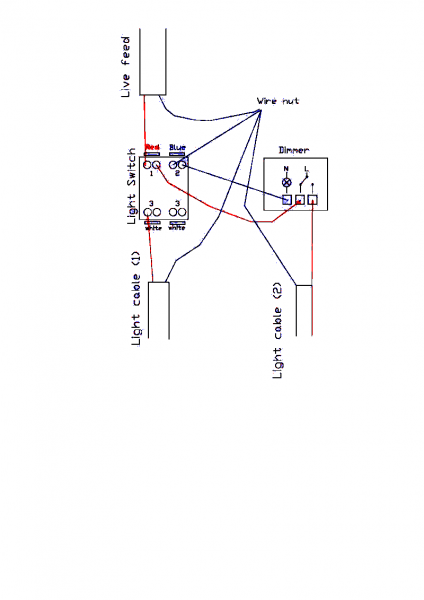 Double Dimmer Switch Wiring Diagram Uk