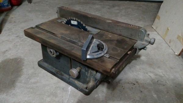 Vintage Craftsman Table Saw …