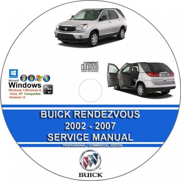 Buick Rendezvous Repair Manual Download