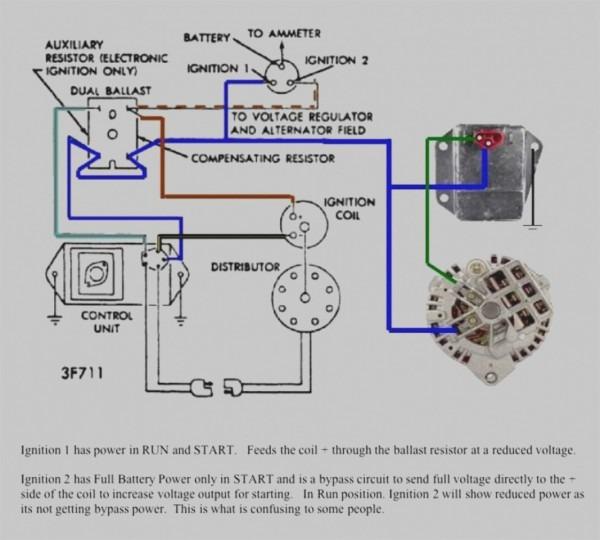 Wiring Diagram Electronic Distributor