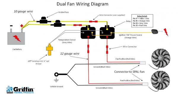 Dual Dual Speed Fan Wiring Diagram