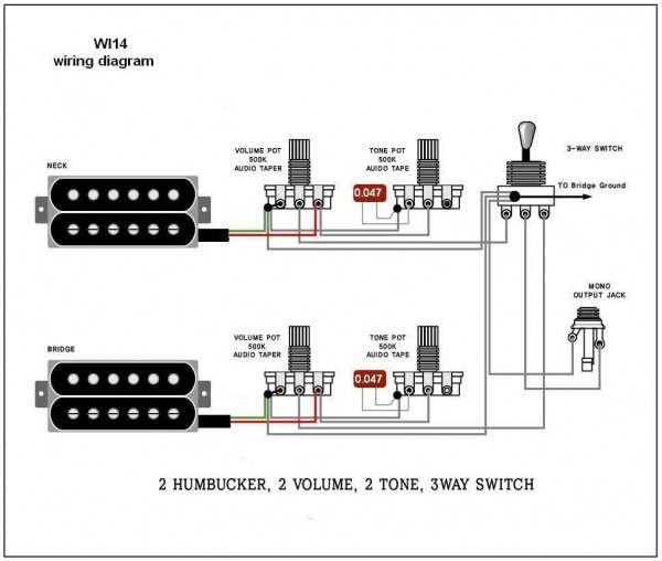 Guitar Wire Diagram