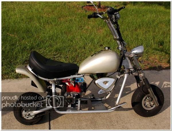 Electra   Apc Mini Chopper W 49cc Ps Engine