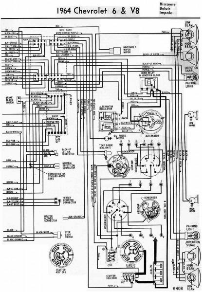 1962 Chevy Pickup Wiring Diagram