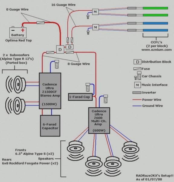Bose Car Speaker Wiring Diagram