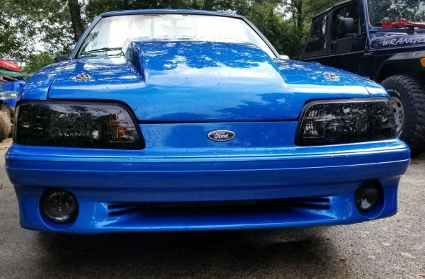1990 Mustang Lx 5 0 Hatchback With Gt Front Bumper
