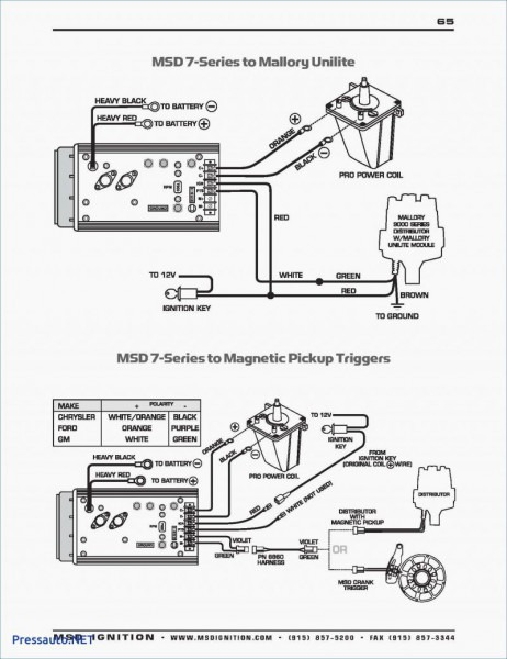 Mallory Electronic Distributor Wiring Diagram