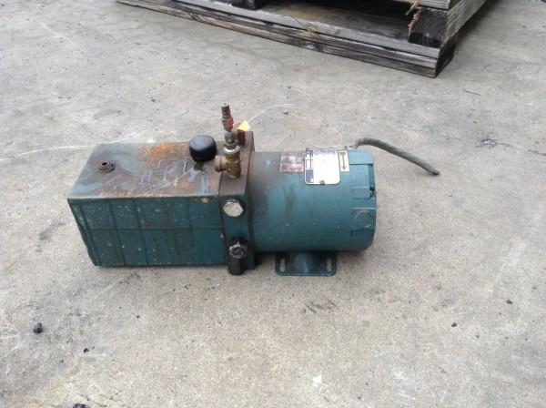 Fenner Stone, Inc  Hydraulic Pump Power Unit 1 2hp 1 Gallon 230vac 3ph
