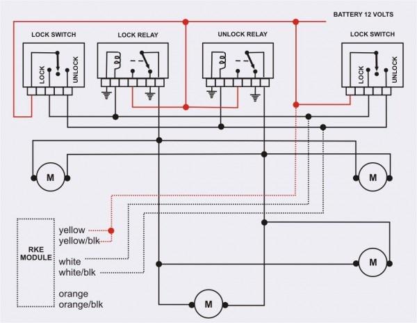 Central Locking Wiring Diagram Golf 4