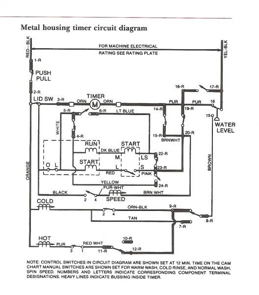 Ge Washing Machine Wiring Diagram