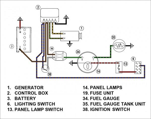 Chevy Fuel Gauge Wiring