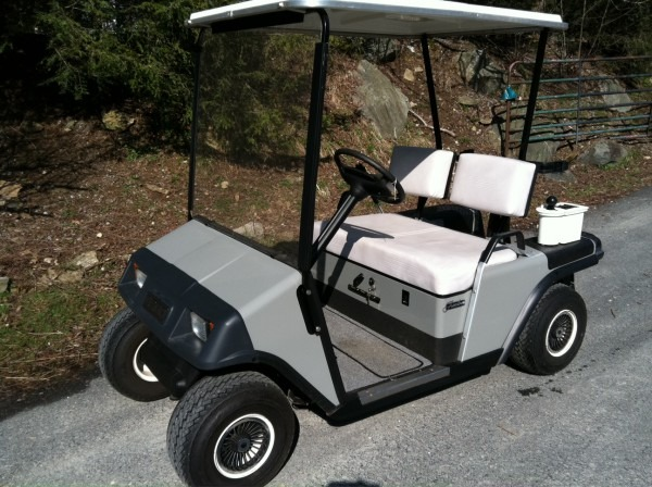 Golf Cart Museum  Ezgo Marathon 1986