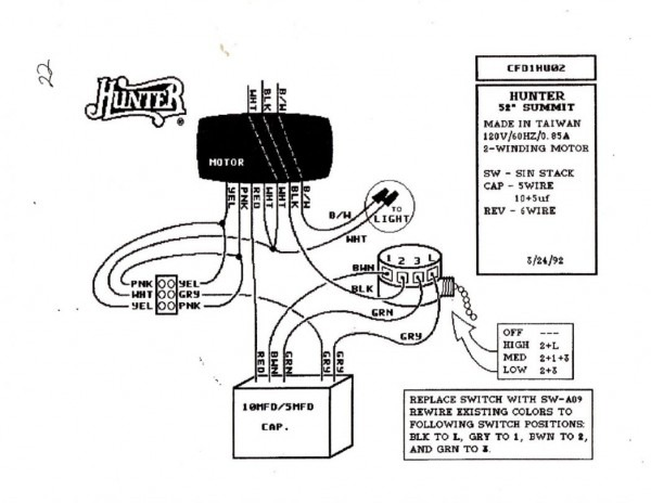 Harbor Breeze Switch Wiring Diagram