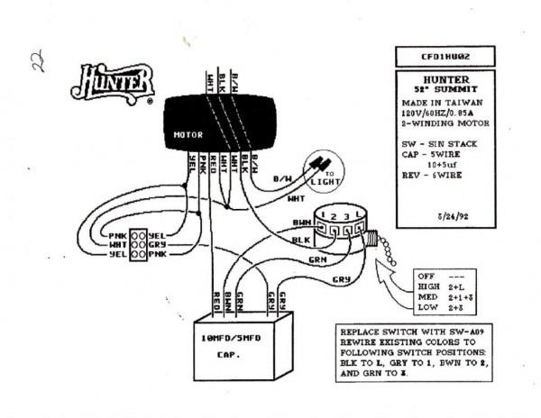 Wiring Diagram For Harbor Breeze Ceiling Fan Light Kit