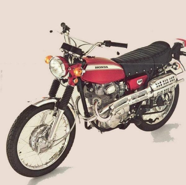 Honda Cl 350