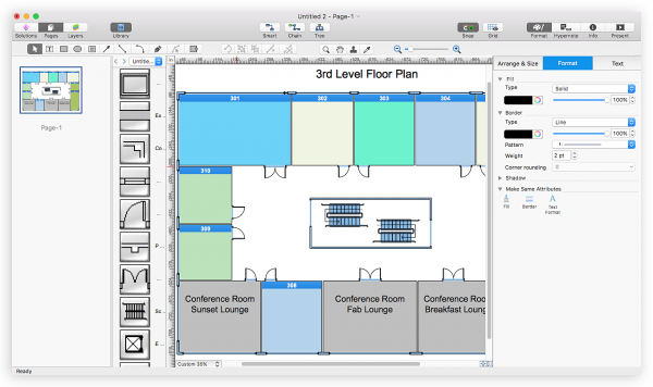 How To Open Visio® Vdx File Using Conceptdraw Pro