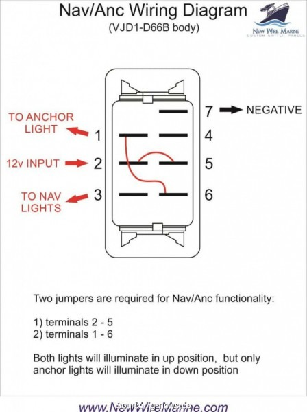 6 Prong Toggle Switch Diagram