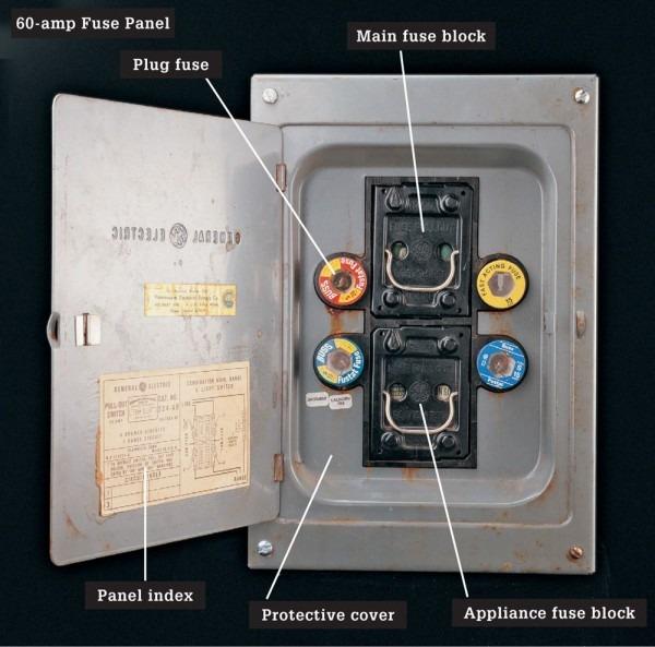 Old Fuse Box Diagram