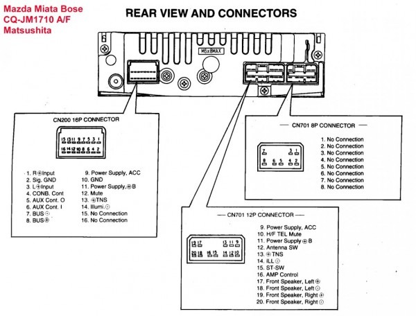 Wire Diagram Sony Xplod