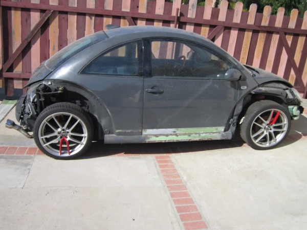 Parting Out 2001 Beetle, Many Custom Parts