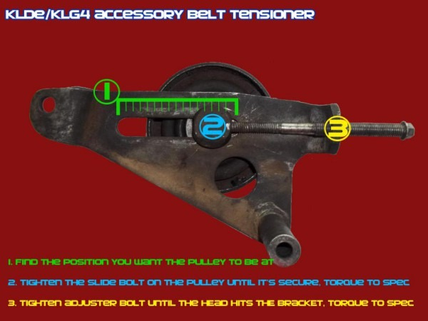 Alt And A C Belt Tensioner Diagram