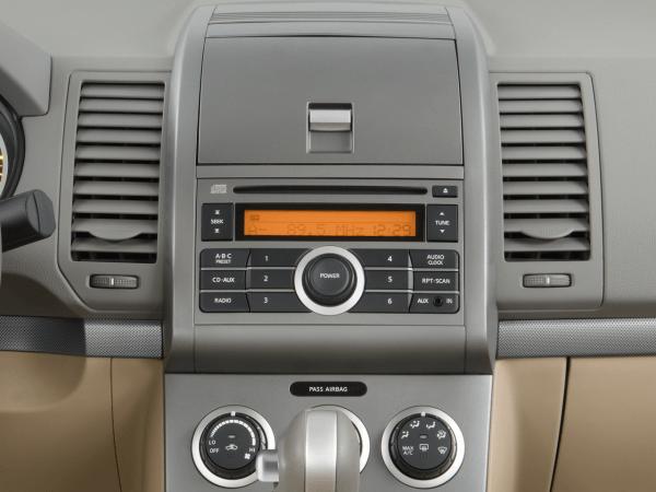 2008 Nissan Sentra Instrument Panel Interior Photo