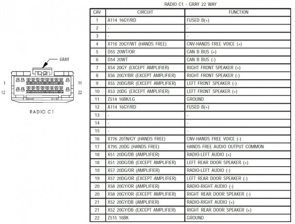 Kenwood Car Radio Wiring Diagram