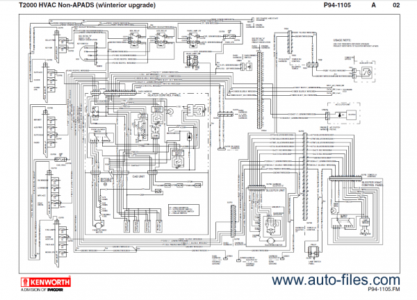 Wiring Diagram Kenworth T2000