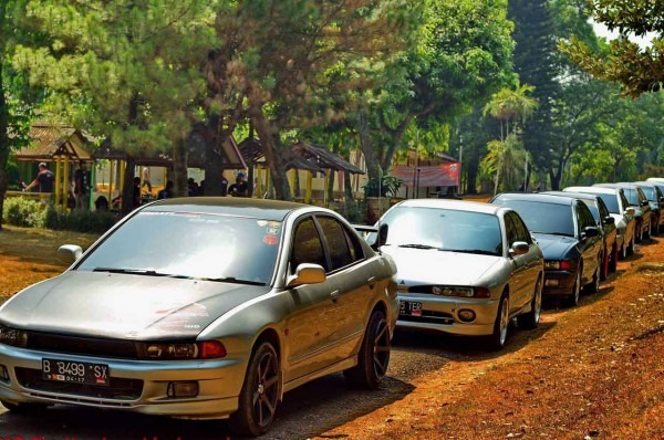 Komunitas Mitsubishi Galant Brotherhood Indonesia