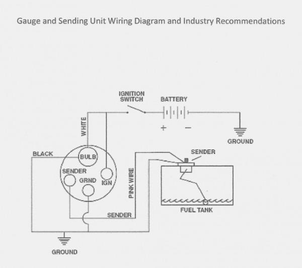 Fuel Sending Unit Wire Diagram