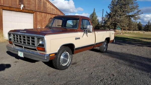 1984 Dodge Ram Pickup Truck