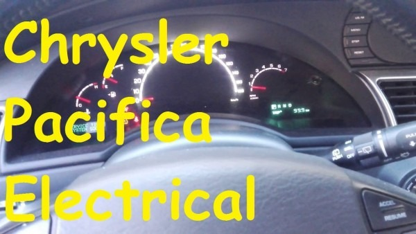Chrysler Pacifica Electrical Problems   Timp Electric Problems