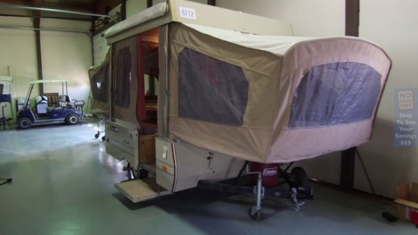 1987 Coleman Columbia Pre Owned Pop Up Camper Video