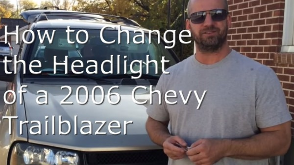 How To Change The Headlight Of A 2006 Chevy Trailblazer