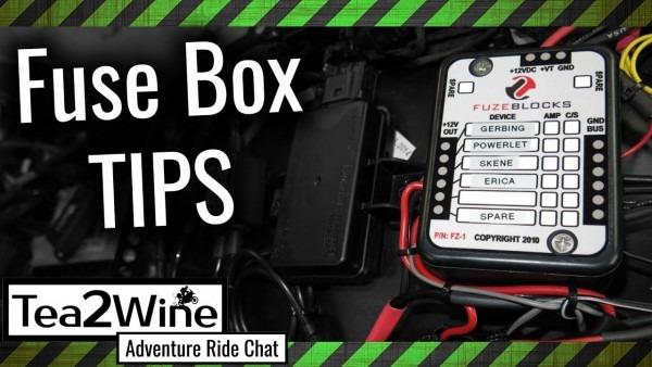 Motorcycle Fuse Box
