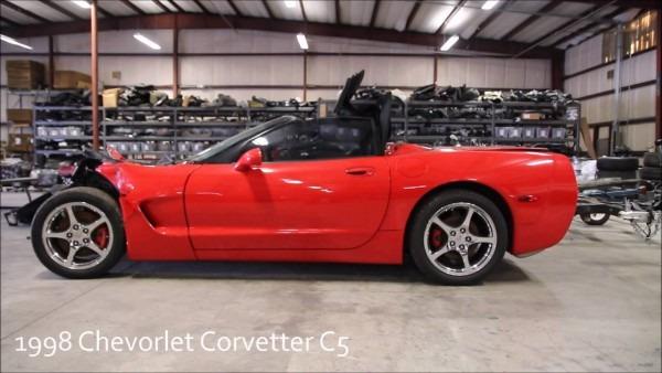 1998 Chevy Corvette C5 Used Parts