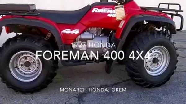 1997 Honda Foreman 400 4x4