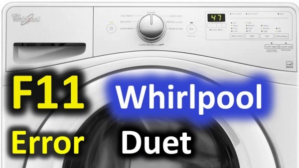 F11 Error Code Solved!!! Whirlpool Duet Front Load Washer Washing
