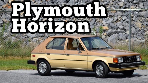 1985 Plymouth Horizon  Regular Car Reviews
