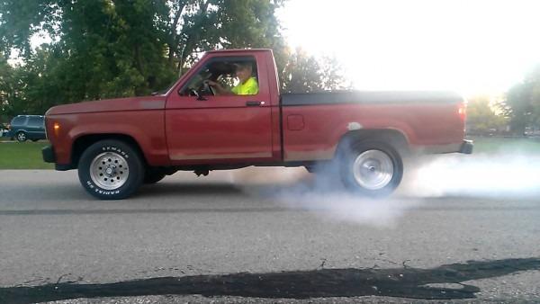 1985 Ford Ranger Burnout