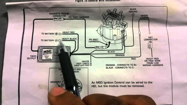 How To Install Msd 6al Ignition Box On Hei