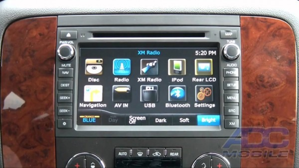 Advent  Oe Navigation  Source Options  2011 Chevrolet Tahoe
